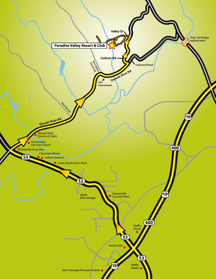 Map To Valley